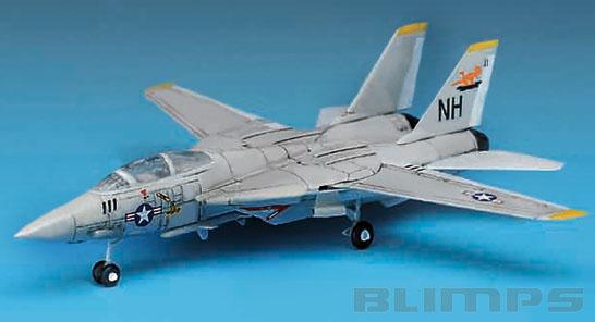 Grumman F-14 Tomcat - 1/144 - Academy 12608  - BLIMPS COMÉRCIO ELETRÔNICO