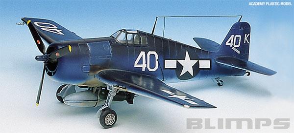 F6F-3/5 Hellcat - 1/72 - Academy 12481  - BLIMPS COMÉRCIO ELETRÔNICO