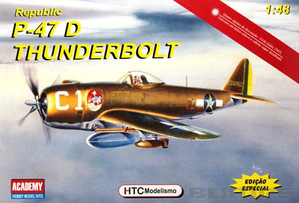 Republic P-47D Thunderbolt - 1/48 - HTC 48003  - BLIMPS COMÉRCIO ELETRÔNICO