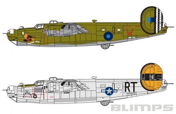 Consolidated B-24 Liberator B.VI - 1/72 - Airfix A06010  - BLIMPS COMÉRCIO ELETRÔNICO