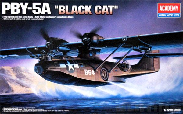 PBY-5A Catalina ´Black Cat´ - 1/72 - Academy 12487  - BLIMPS COMÉRCIO ELETRÔNICO