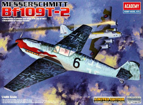 Messerschmitt Bf109T-2 - 1/48 - Academy 12225  - BLIMPS COMÉRCIO ELETRÔNICO