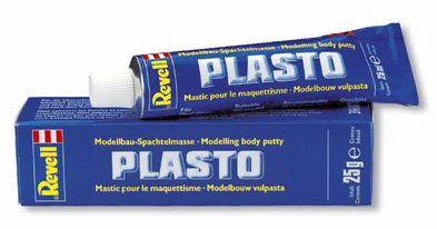 Massa Putty Plasto - Revell 39607  - BLIMPS COMÉRCIO ELETRÔNICO