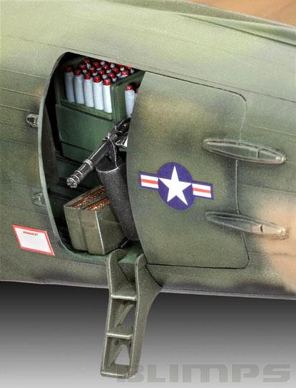 Douglas AC-47D Gunship - 1/48 - Revell 04926  - BLIMPS COMÉRCIO ELETRÔNICO