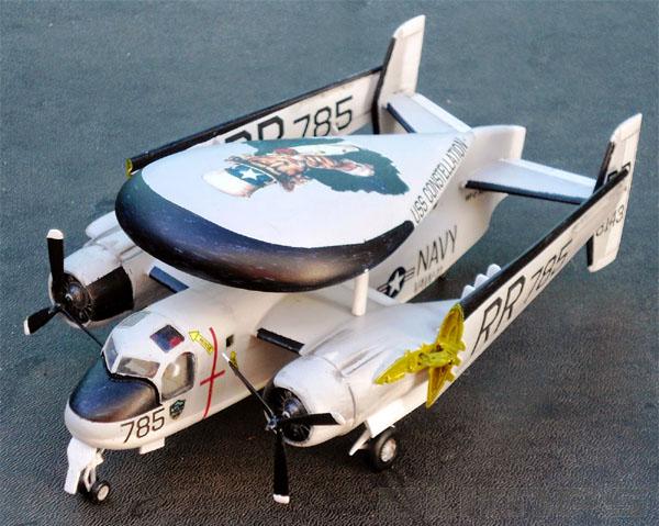 Grumman E-1 Tracer - 1/72 - GIIC  - BLIMPS COMÉRCIO ELETRÔNICO