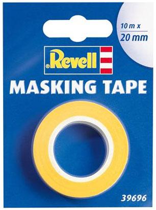 Fita adesiva para máscara de pintura (Masking Tape) - 20 mm - Revell 39696  - BLIMPS COMÉRCIO ELETRÔNICO