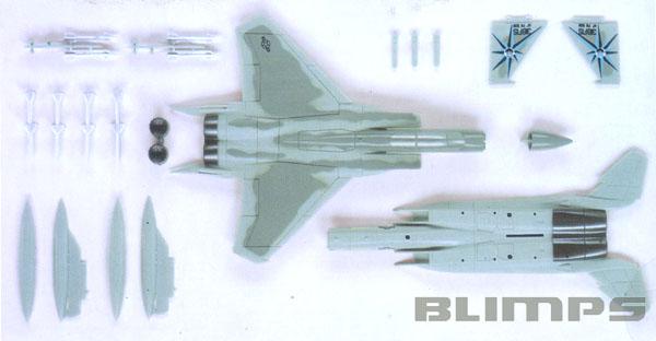 SnapTite F-15 Eagle - 1/100 - Revell 85-1367  - BLIMPS COMÉRCIO ELETRÔNICO