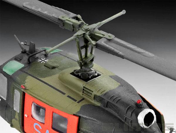 Bell UH-1D ´SAR´ - 1/72 - Revell 04444  - BLIMPS COMÉRCIO ELETRÔNICO