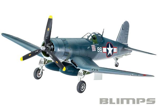 Vought F4U-1A Corsair - 1/72 - Revell 03983  - BLIMPS COMÉRCIO ELETRÔNICO