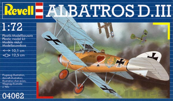 Albatros D.III - 1/72 - Revell 04062  - BLIMPS COMÉRCIO ELETRÔNICO