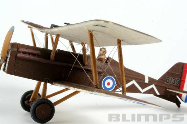 Royal Aircraft Factory S.E.5a - 1/72 - Revell 04061  - BLIMPS COMÉRCIO ELETRÔNICO