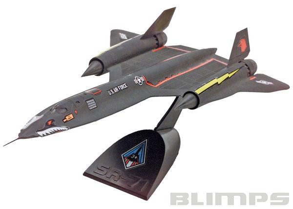 SnapTite SR-71 Blackbird - 1/110 - Revell 85-1187  - BLIMPS COMÉRCIO ELETRÔNICO