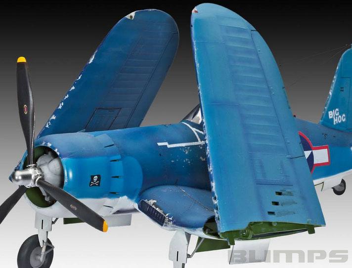 Vought F4U-1A Corsair - 1/32 - Revell 04781  - BLIMPS COMÉRCIO ELETRÔNICO
