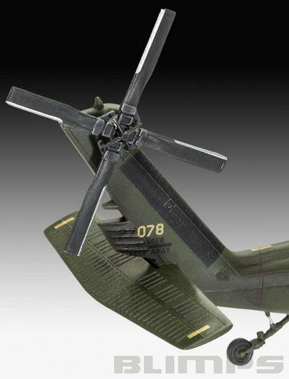 UH-60A Transport Helicopter - 1/72 - Revell 04940  - BLIMPS COMÉRCIO ELETRÔNICO