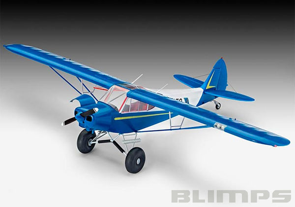 Piper PA-18 with Bushwheels - 1/32 - Revell 04890  - BLIMPS COMÉRCIO ELETRÔNICO