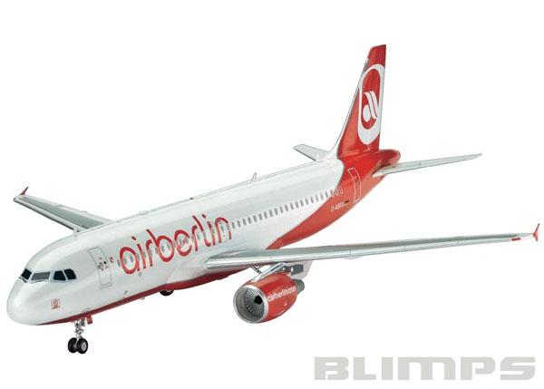 Airbus A320 Air Berlin - 1/144 - Revell 04861  - BLIMPS COMÉRCIO ELETRÔNICO