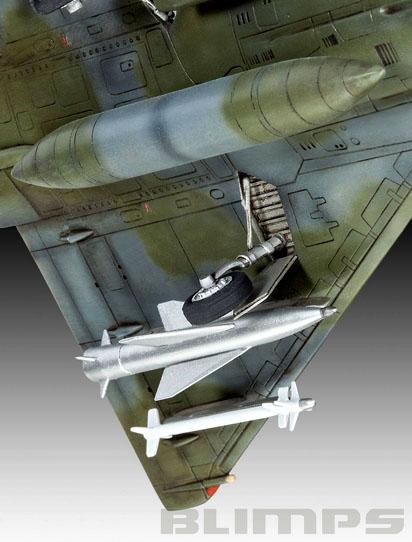 Dassault Mirage 2000D - 1/72 - Revell 04893  - BLIMPS COMÉRCIO ELETRÔNICO