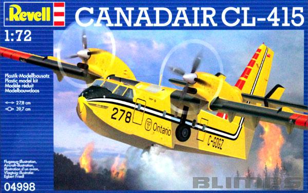 Canadair CL-415 - 1/72 - Revell 04998  - BLIMPS COMÉRCIO ELETRÔNICO