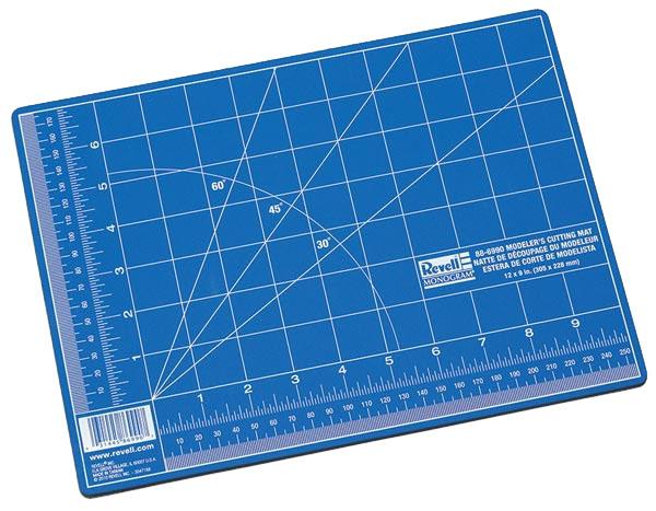 Placa de corte autorreparável - 305 x 228 mm - Revell RMX R6990  - BLIMPS COMÉRCIO ELETRÔNICO