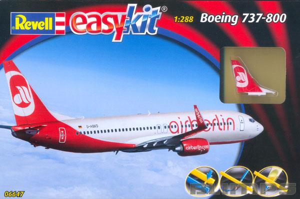 Easykit Boeing 737-800 Air Berlin - 1/288 - Revell 06647  - BLIMPS COMÉRCIO ELETRÔNICO