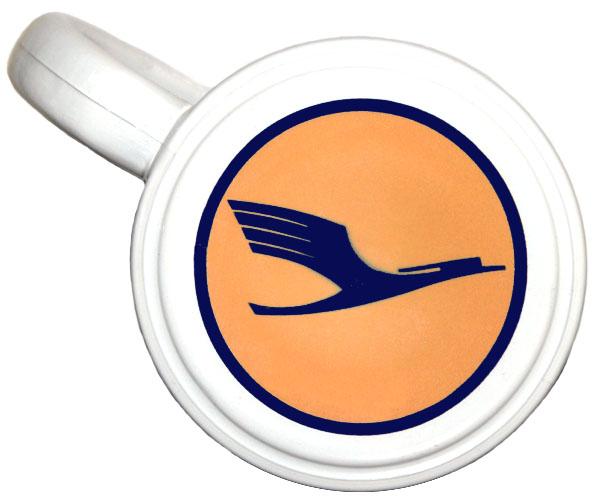 Caneca Lufthansa German Airlines  - BLIMPS COMÉRCIO ELETRÔNICO