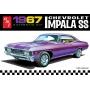 Chevrolet Impala SS 1967 - 1/25 - AMT 981M