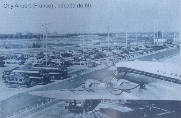 Placa de metal Aeroporto de Orly  - BLIMPS COMÉRCIO ELETRÔNICO