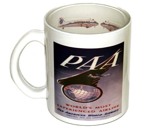 Caneca PAA (Pan American World Airways)  - BLIMPS COMÉRCIO ELETRÔNICO