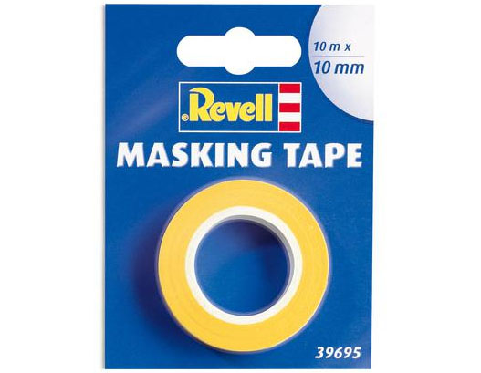 Fita adesiva para máscara de pintura (Masking Tape) - 10 mm - Revell 39695  - BLIMPS COMÉRCIO ELETRÔNICO
