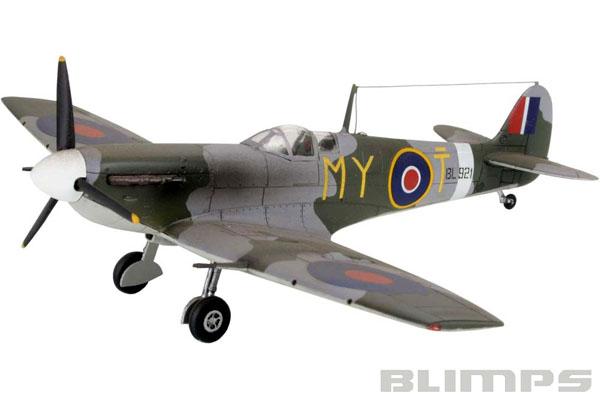 Supermarine Spitfire Mk V - 1/72 - Revell 04164  - BLIMPS COMÉRCIO ELETRÔNICO