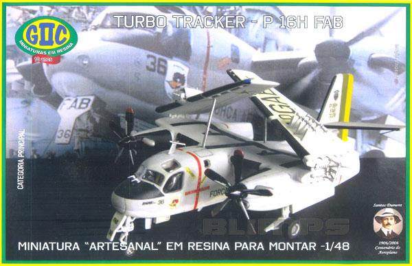 Grumman P-16H Turbo Tracker - 1/48 - GIIC  - BLIMPS COMÉRCIO ELETRÔNICO