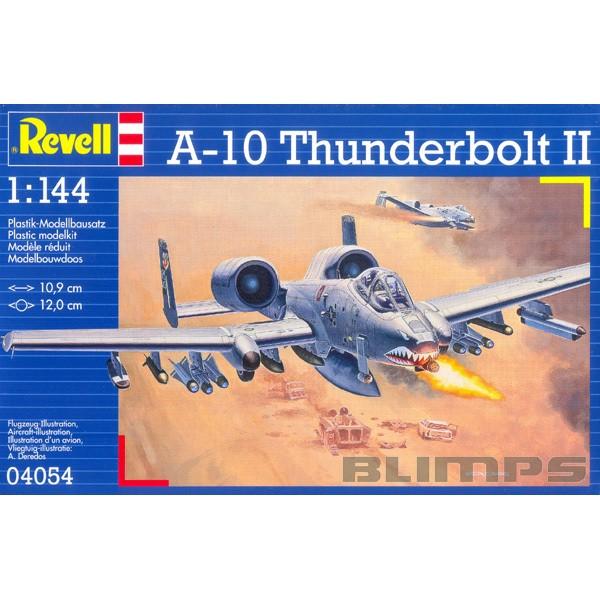A-10 Thunderbolt II - 1/144 - Revell 04054  - BLIMPS COMÉRCIO ELETRÔNICO