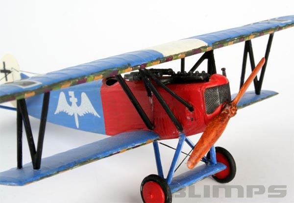 Model-Set Fokker D VII - 1/72 - Revell 64194  - BLIMPS COMÉRCIO ELETRÔNICO