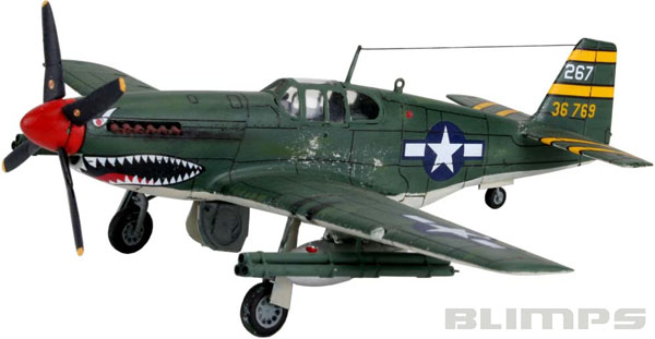 P-51B Mustang - 1/72 - Revell 04182  - BLIMPS COMÉRCIO ELETRÔNICO