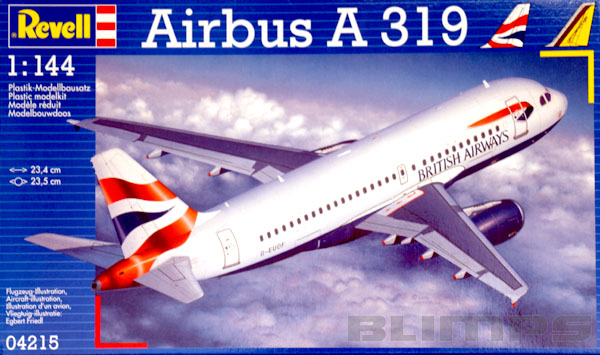 Airbus A319 British Airways e Germanwings - 1/144 - Revell 04215  - BLIMPS COMÉRCIO ELETRÔNICO