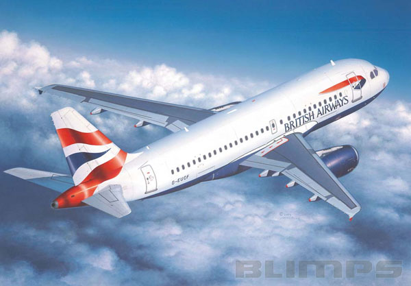 Airbus A319 British Airways e Germanwings - 1/144 - Revell 04215  - BLIMPS COMÉRCIO ELETRÔNICO