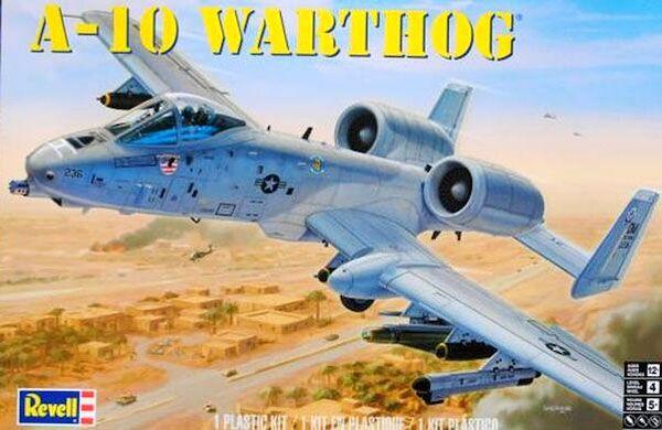 A-10 Warthog - 1/48 - Revell 85-5521  - BLIMPS COMÉRCIO ELETRÔNICO