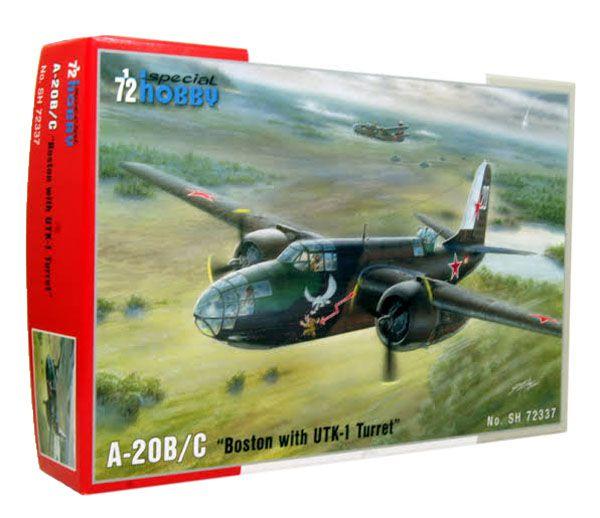 A-20B/C Boston with UTK-1 Turret - 1/72 - Special Hobby 72337  - BLIMPS COMÉRCIO ELETRÔNICO