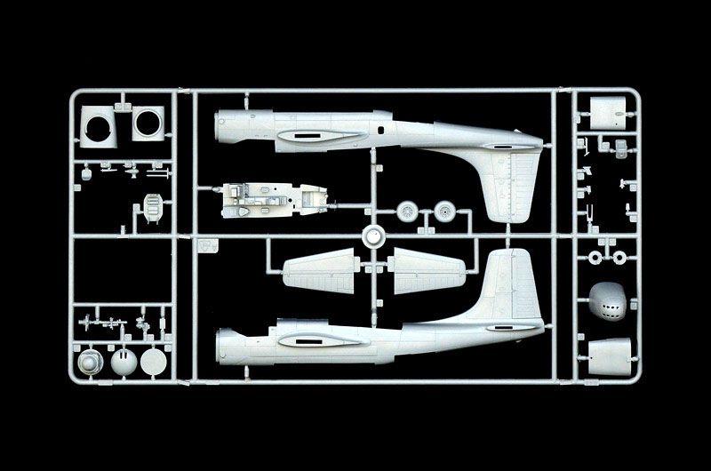A-26B Invader - 1/72 - Italeri 1358  - BLIMPS COMÉRCIO ELETRÔNICO