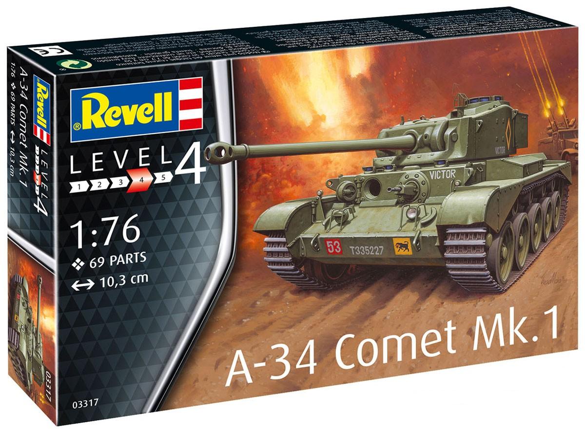 A-34 Comet Mk.1 - 1/76 - Revell 03317  - BLIMPS COMÉRCIO ELETRÔNICO