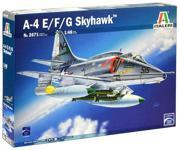 A-4E/F/G Skyhawk - 1/48 - Italeri 2671  - BLIMPS COMÉRCIO ELETRÔNICO