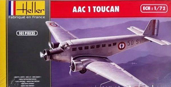 AAC 1 Toucan - 1/72 - Heller 80359  - BLIMPS COMÉRCIO ELETRÔNICO