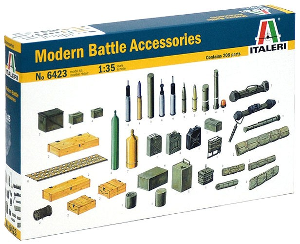 Acessórios modernos de combate - 1/35 - Italeri  6423  - BLIMPS COMÉRCIO ELETRÔNICO