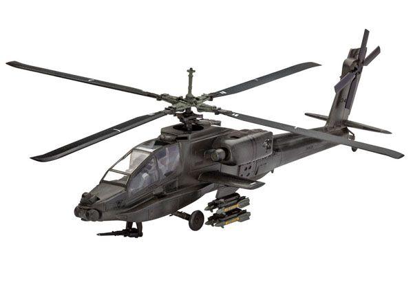 AH-64A Apache - 1/100 - Revell 04985  - BLIMPS COMÉRCIO ELETRÔNICO