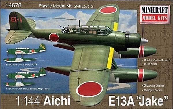 """Aichi E13A """"Jake"""" - 1/144 - Minicraft 14678  - BLIMPS COMÉRCIO ELETRÔNICO"""