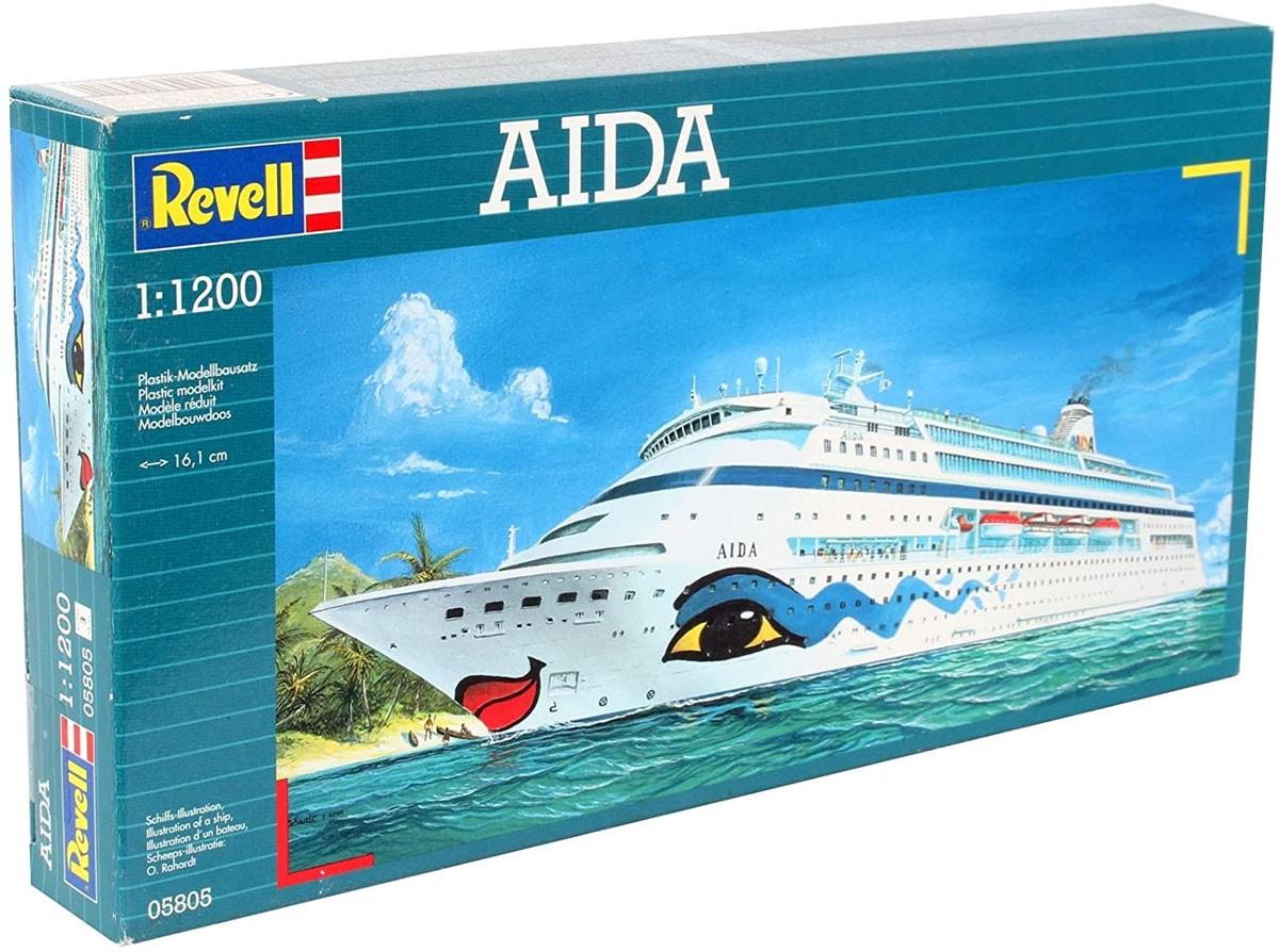 AIDA - 1/1200 - Revell 05805  - BLIMPS COMÉRCIO ELETRÔNICO