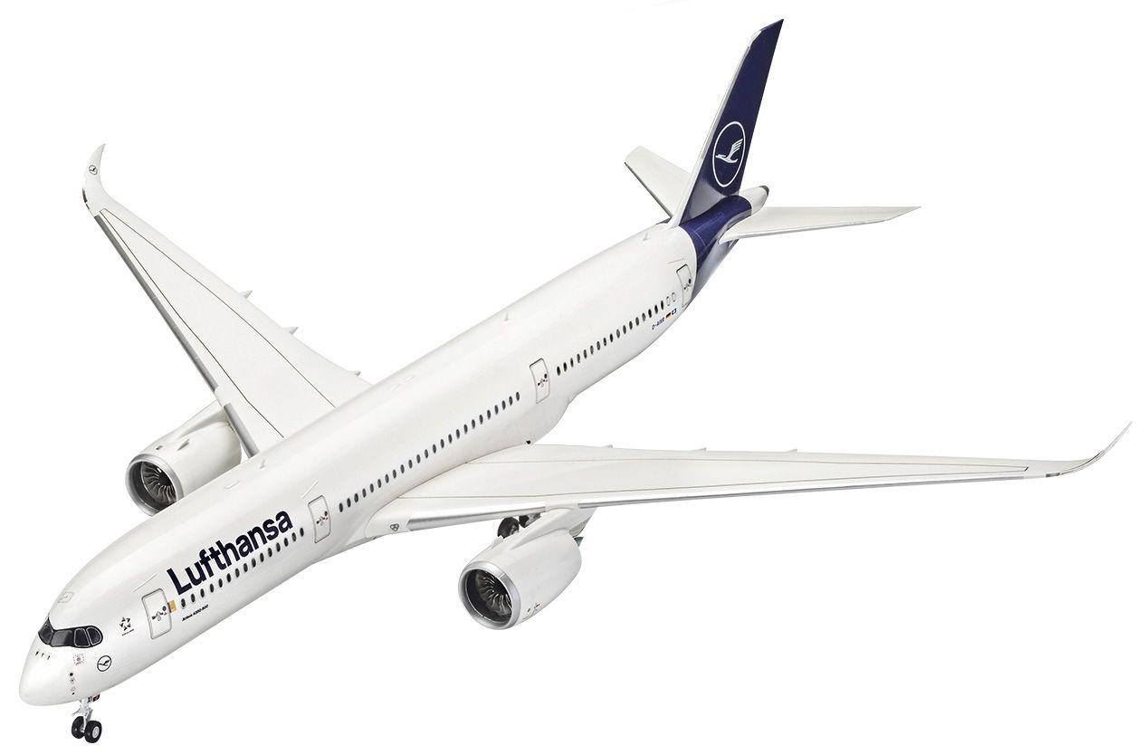 Airbus A350-900 Luftahansa New Livery - 1/144 - Revell 03881  - BLIMPS COMÉRCIO ELETRÔNICO
