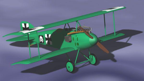 Albatros D.I - 1/72 - Roden 001  - BLIMPS COMÉRCIO ELETRÔNICO