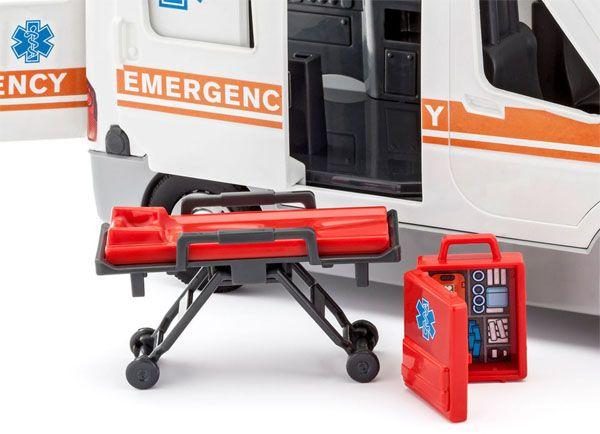 Ambulância - 1/20 - Revell 00806  - BLIMPS COMÉRCIO ELETRÔNICO