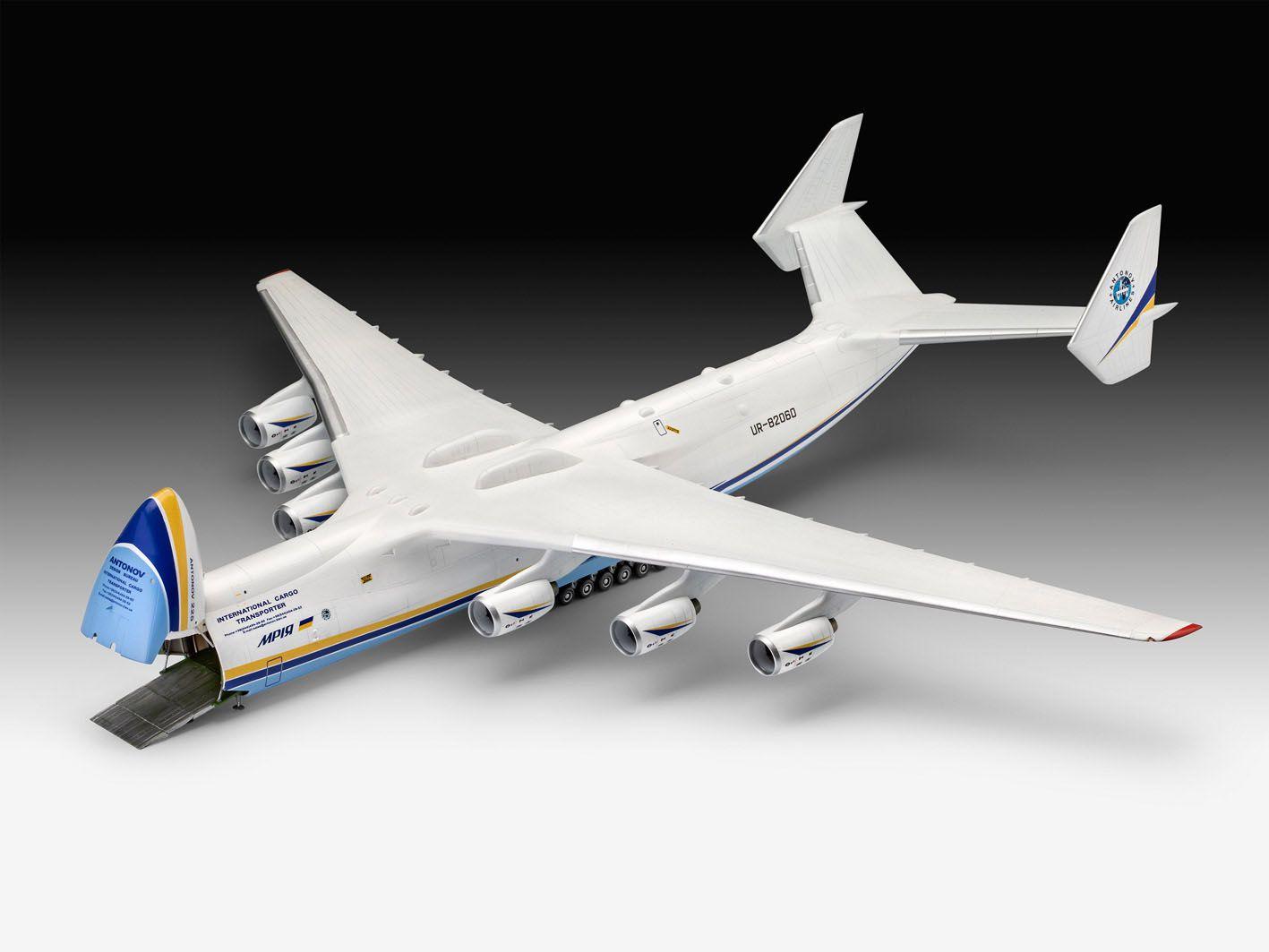 Antonov An-225 MRIJA - 1/144 - Revell 04958  - BLIMPS COMÉRCIO ELETRÔNICO